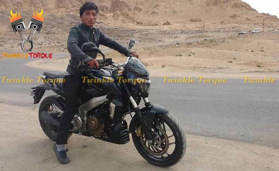 BAJAJ PULSAR VS 400 spied exclusive twinkle torque