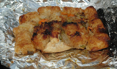 BBQ Chicken Tinfoil Dinners