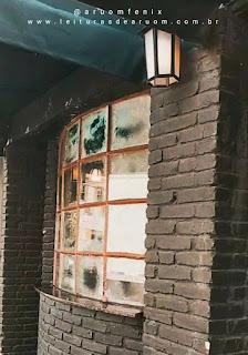 Imagem hamburgueria/restaurante harry potter entrada