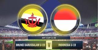 Indonesia Vs Brunei, Timnas U-19 Unggul 8-0