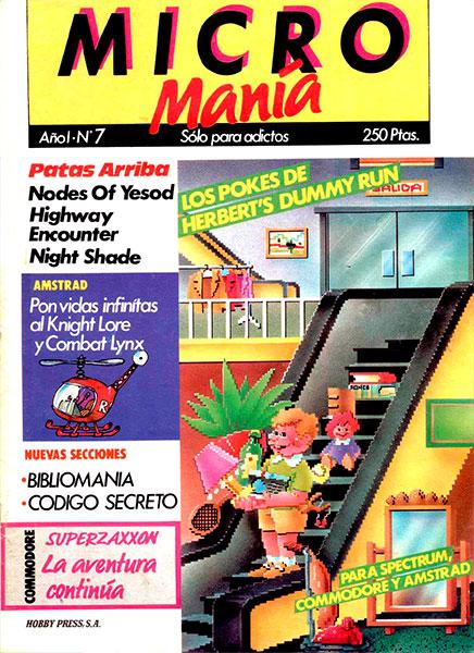 Revista Micromanía Número 7