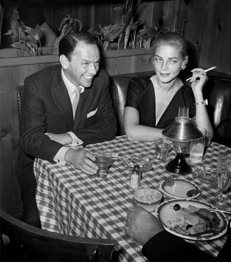 Lauren and Frank at the diner
