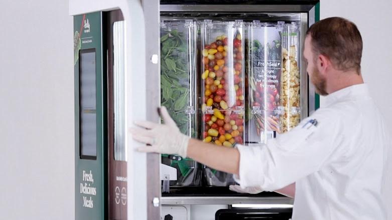 Sally Vending Machine Created By Chowbotics