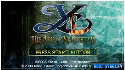 Ys: 6 The Ark of Napishtim PPSSPP PSP