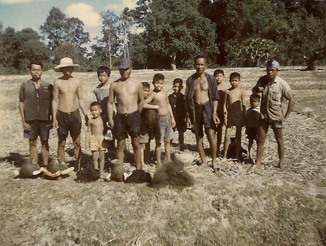 Рабочие в поле Таиланд