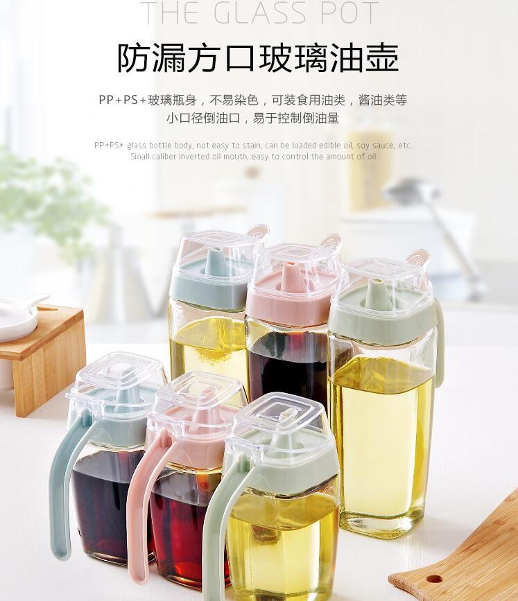 Botol Minyak Serbaguna Seasoning Glass Jar 350ml