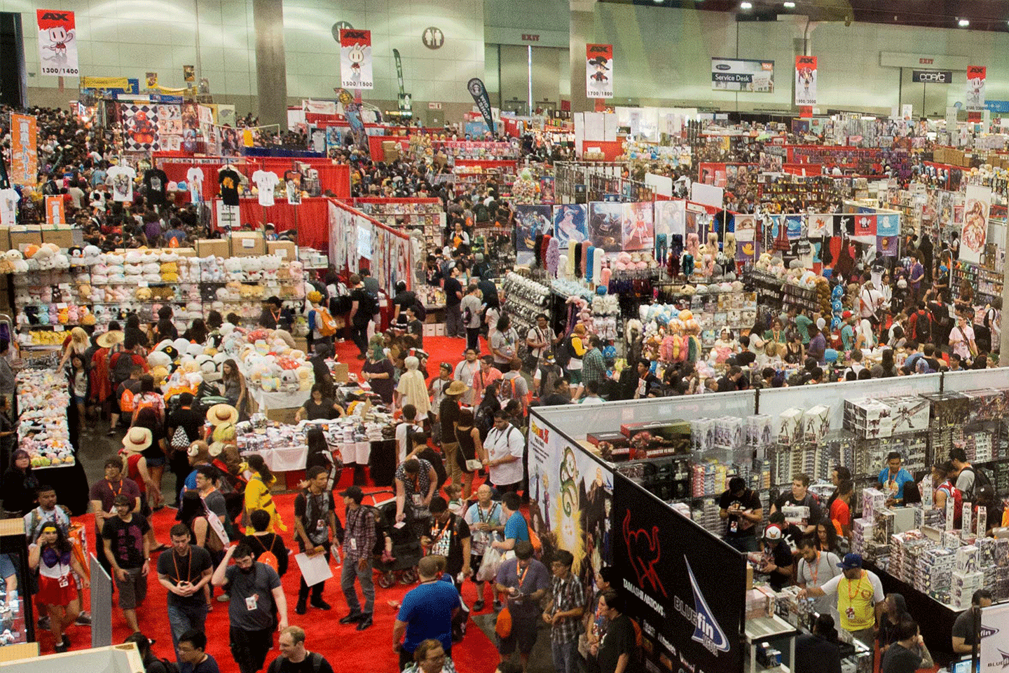 things to do in los angeles: anime expo 2018 schedule up