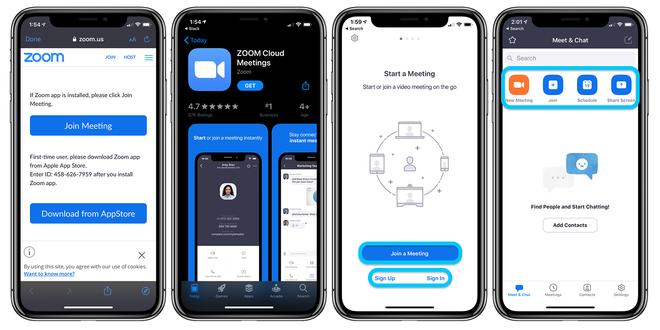 Ứng dụng video call Zoom bị phát hiện gửi dữ liệu người dùng cho Facebook