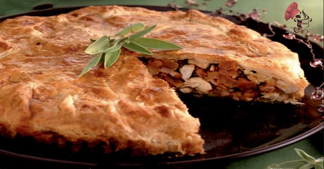 Empanada de Pollo con manzana
