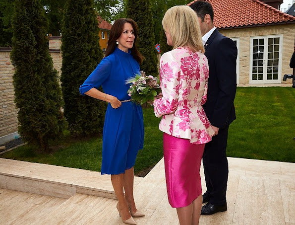 Crown Princess Mary met with, Ambassador Miller, Australia's Ambassador to Denmark