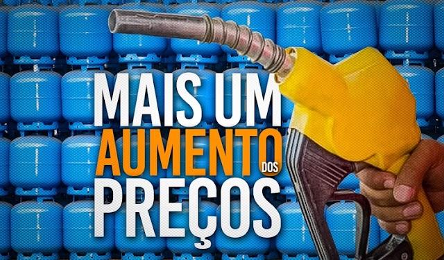 Prepare o bolso: Petrobras aumenta gasolina e gás de cozinha em 7%