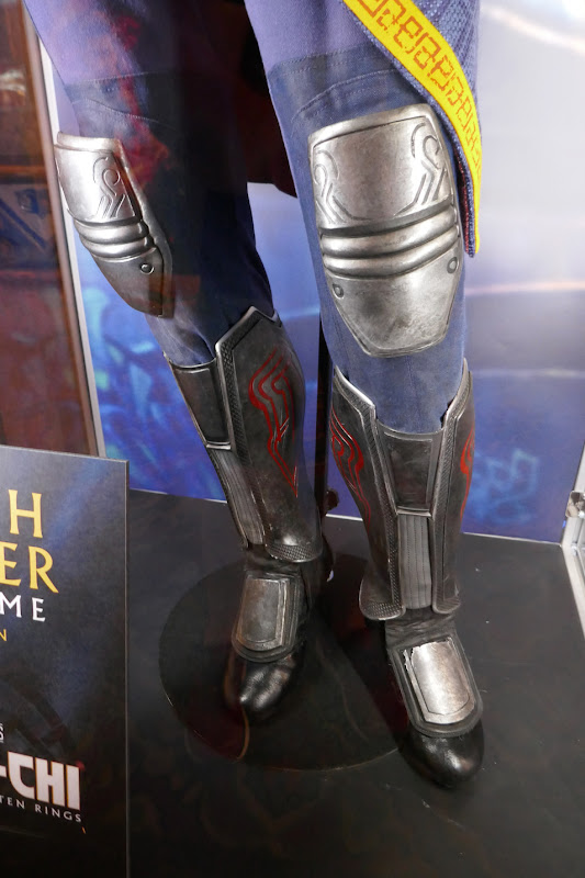 Death Dealer costume legs detail Shang-Chi Ten Rings