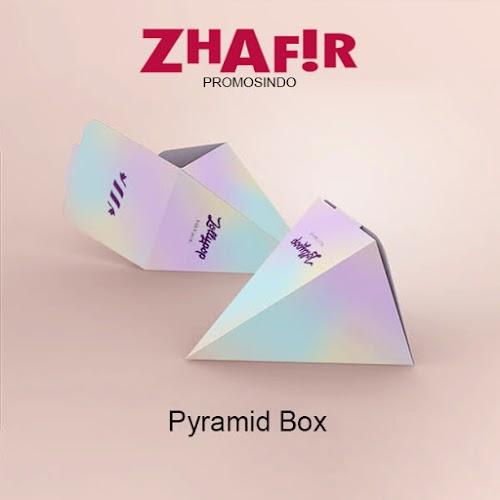 Cetak Kemasan Pyramid Box
