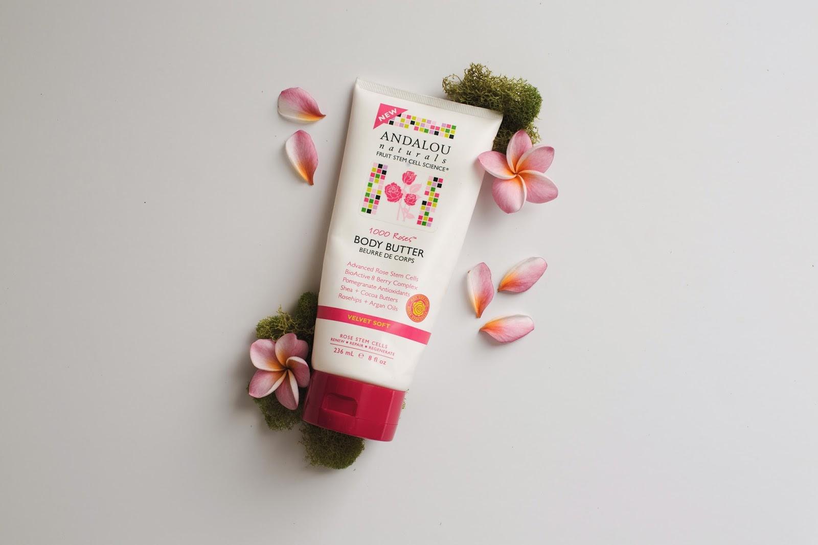 andalou naturals 1000 roses body cream