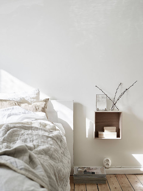 sypialnia dla minimalisty