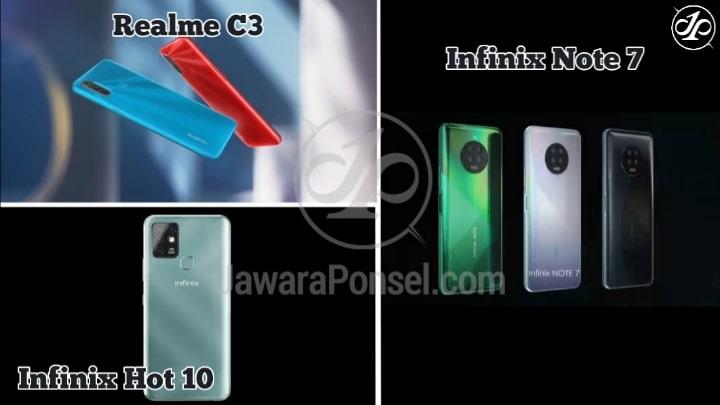 Harga HP dengan Prosesor Mediatek Helio G70