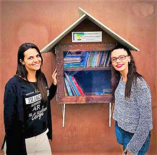 Bibliotecas de ruas gratuitas são instaladas em Cajati