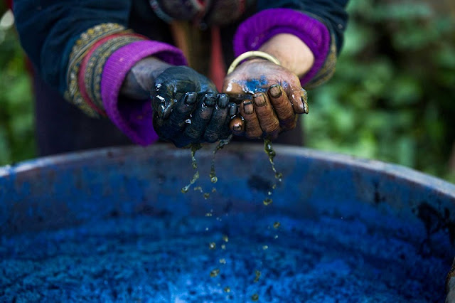 Fashionable Adventures With Indigo Dye Technology Of Hmong People In Sapa, Vietnam