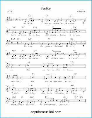 perdido lagu jazz standar
