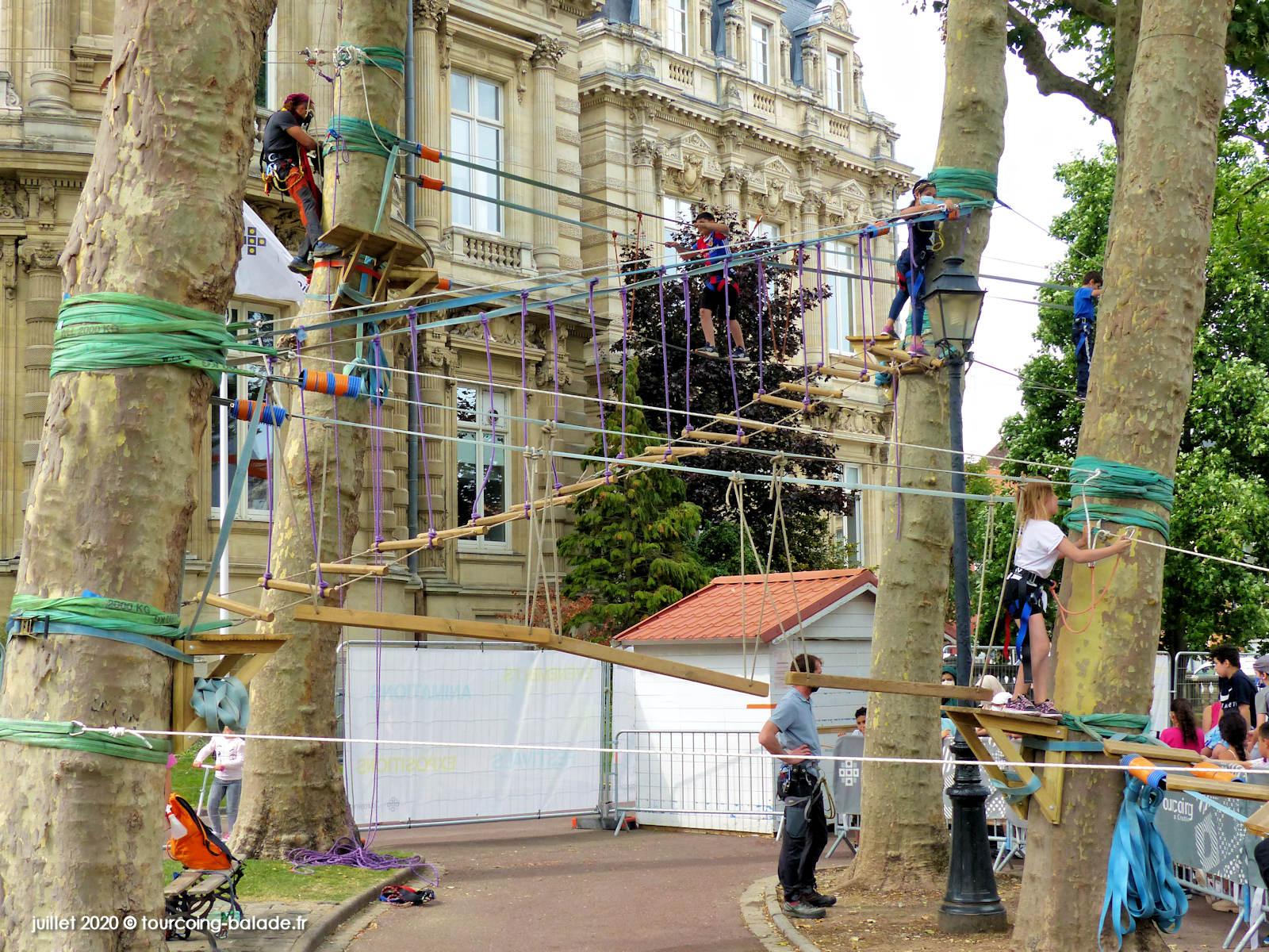 Accrobranche Square Churchill, Tourcoing 2020