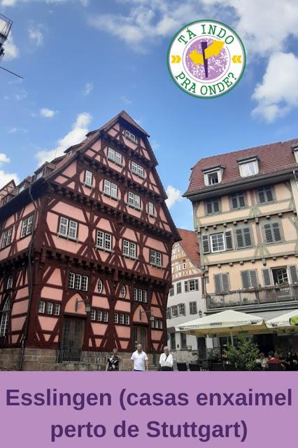 Esslingen (Alemanha) - passeio de um ou meio dia perto de Stuttgart