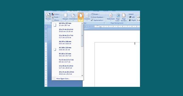 Mengatasi Hilangnya Ukuran Kertas Saat Memilih Printer Di MS Office