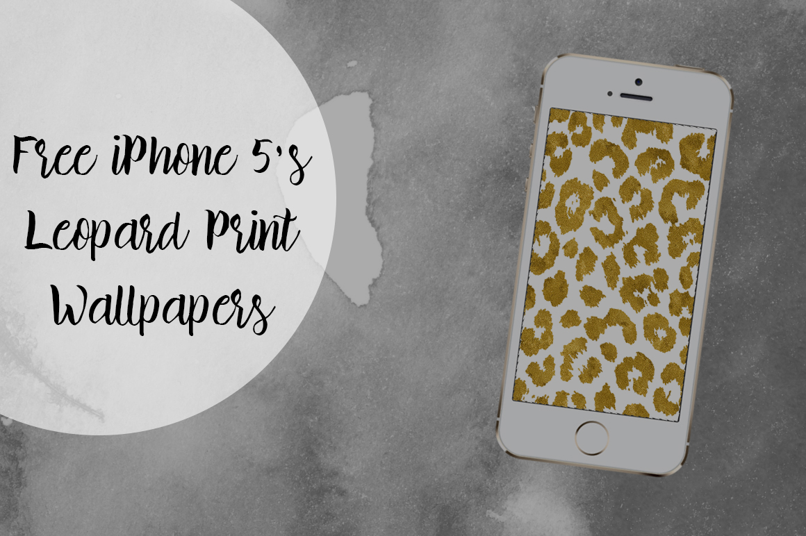 DLOLLEYS HELP: Free IPhone 5s Leopard Gold Print Wallpapers