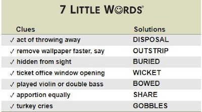 7 little words daily puzzle answers 7 little words daily puzzles