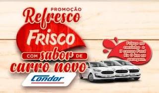 Promoção Frisco e Condor 3 Carros 0KM - Sabor Carro Novo