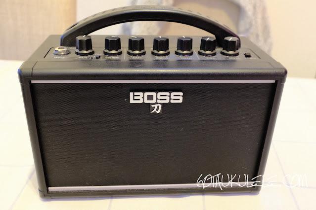 Boss Katana Mini Ukulele Amplifier
