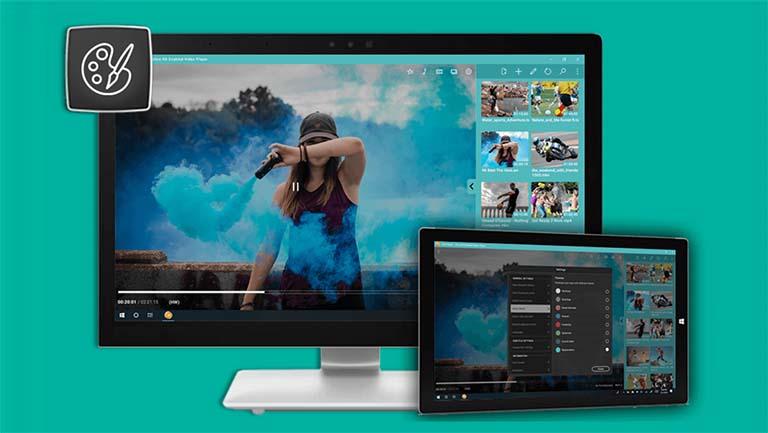 CnX Media Player Pemutar Video 4K HDR Untuk Windows 10