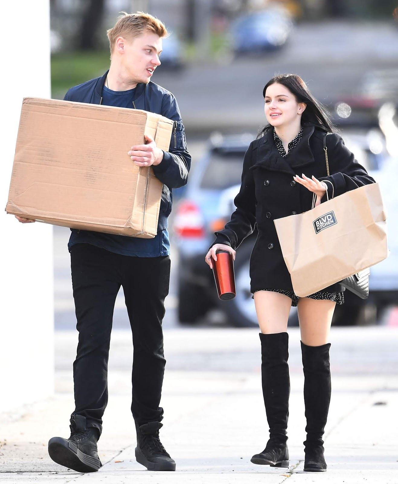 Ariel Winter - attends a cooking class party in Sherman Oaks - 01/12/2019
