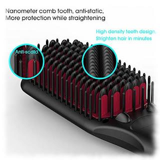 Miropure Hair Straightening Brush