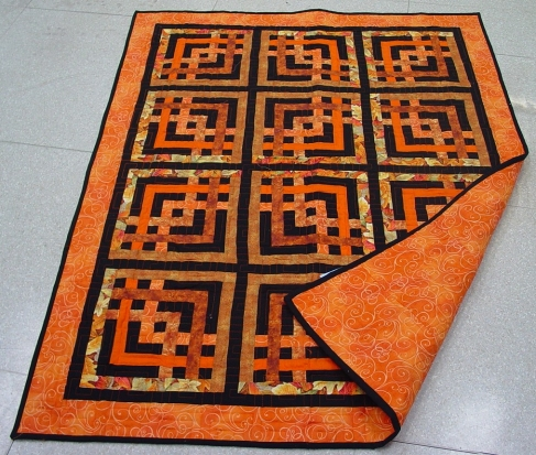 Carpenter's Square Quilt designed by Marcia for Quilters Cache