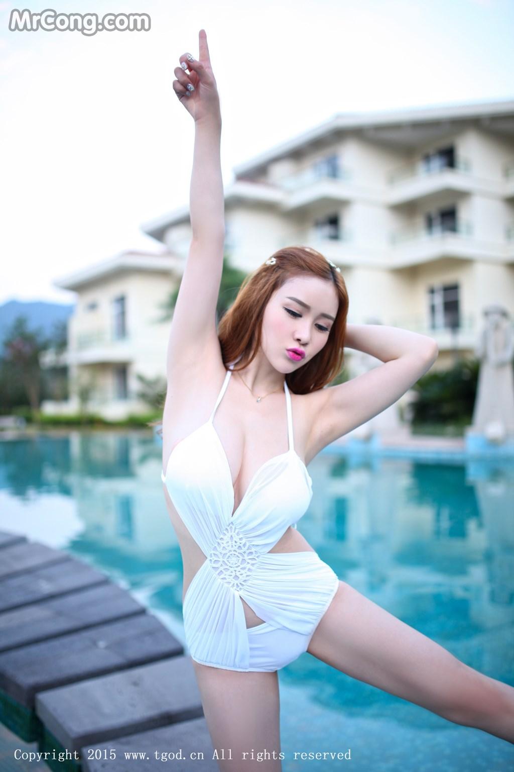 TGOD 2015-09-21: Người mẫu Yu Ji Una (于姬Una) (43 ảnh)