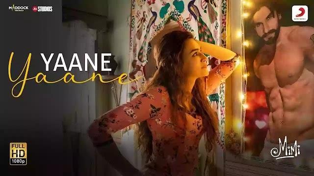 YAANE YAANE SONG LYRICS – MIMI