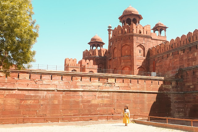 Tiket masuk red fort india