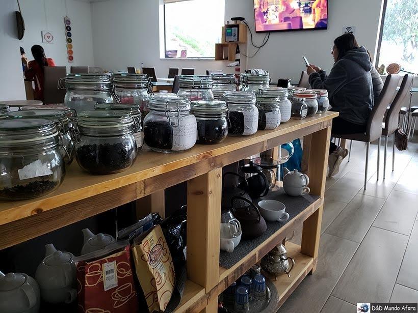 Chás e infusões no Hotel Infusion - onde ficar em Óbidos