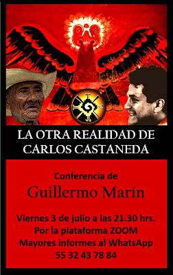 LA OTRA REALIDAD DE CARLOS CASTANEDA conferencia por zoom
