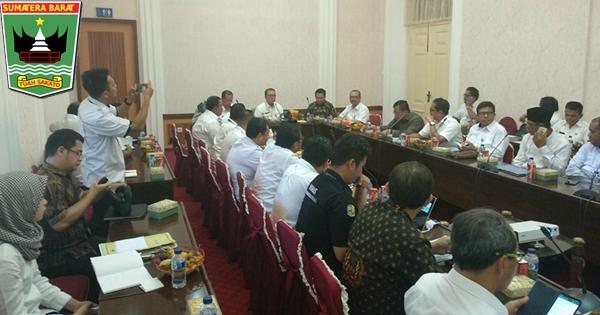 Wagub Nasrul Abit Berharap Proyek Batang Sinamar Dapat Kembali Dilanjutkan