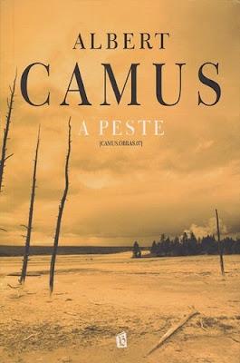 Capa do livro A Peste de Albert Camus, acesse para baixar em pdf