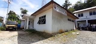 Posko Tim KKN Lentera Borneo, Kantor PT Waskita Karya untuk Proyek Pembangunan Jalan Simpang Tanjung - Aruk II