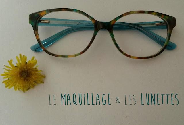 Le maquillage & les lunettes : Conseils & tutoriel (Back to School 2015)