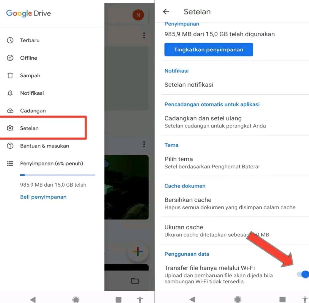Gagal Upload File ke Google Drive pada Android