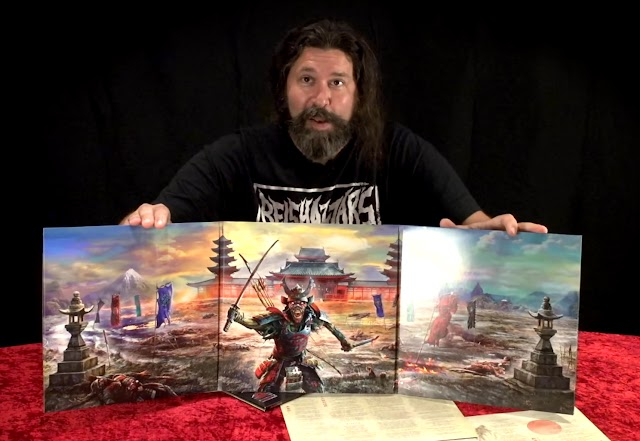 Senjutsu: assista unboxing do vinil triplo do novo álbum do Iron Maiden