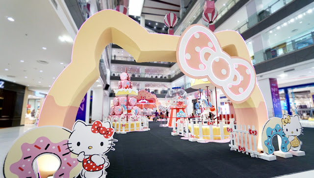 Explore the sweet and enchanting world of Hello Kitty at Paradigm Mall Johor Bahru this March School Holidays!