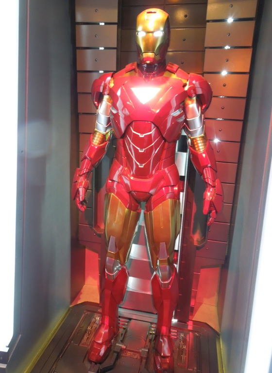Iron Man 2 Mark VI suit