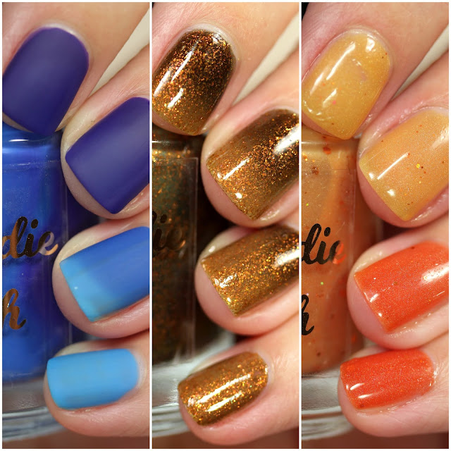My Indie Polish Fall 2020 Trio swatches