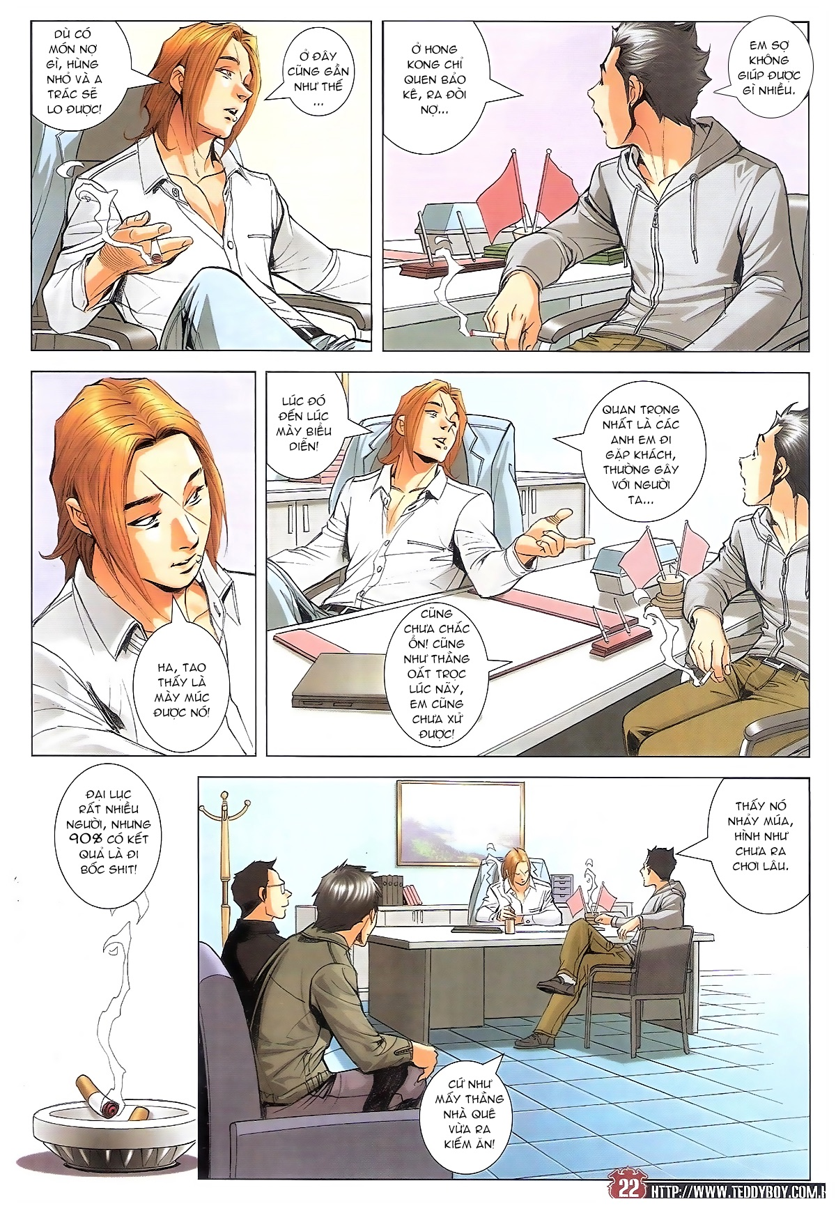 Người Trong Giang Hồ chapter 1795: hoàng tiên sinh trang 21