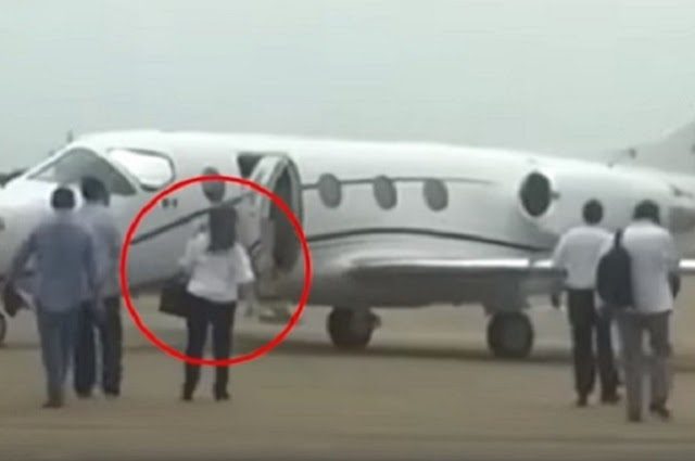 Dirigente de Morena justifica viaje en avión privado